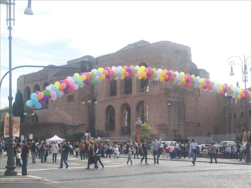 Ballons in Rome!