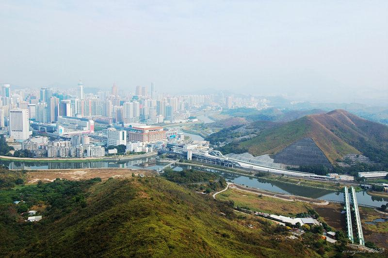 Lo Wu Border and Shenzhen River 羅湖口岸及深圳河畔