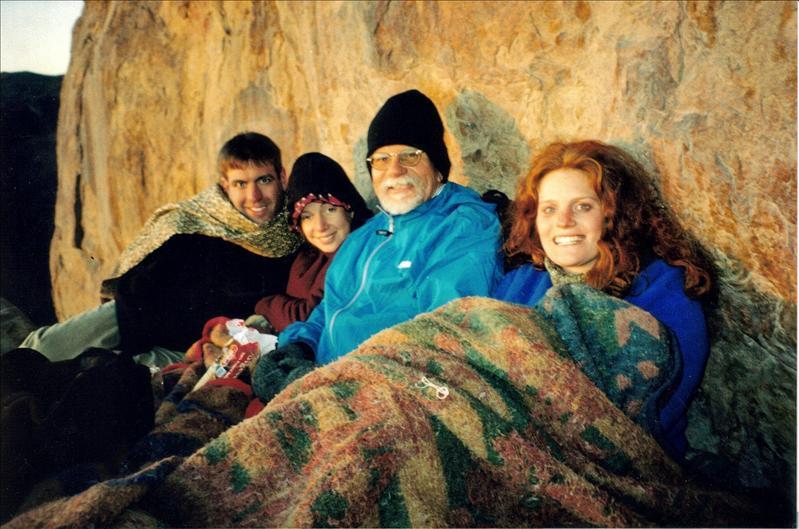 Waiting (and Freezing) for Sunrise on Mt. Sinai