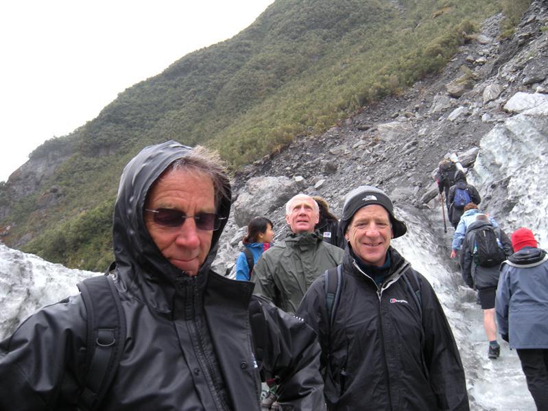Moving onto Fox Glacier