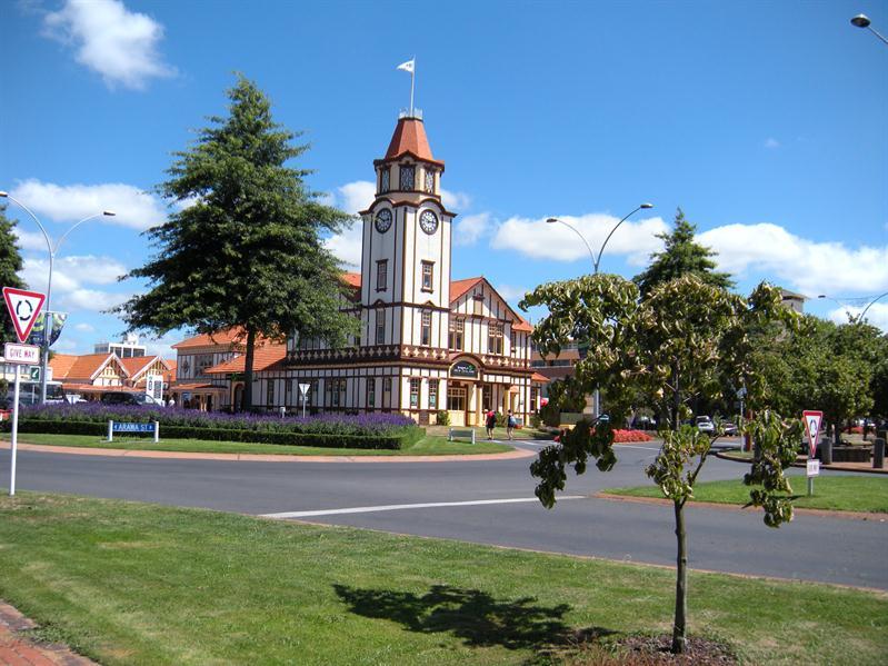 Tourist information centre in Rotorua