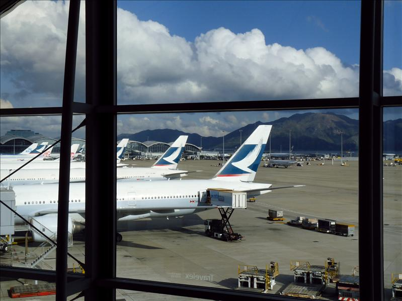 香港機場。環亞貴賓室