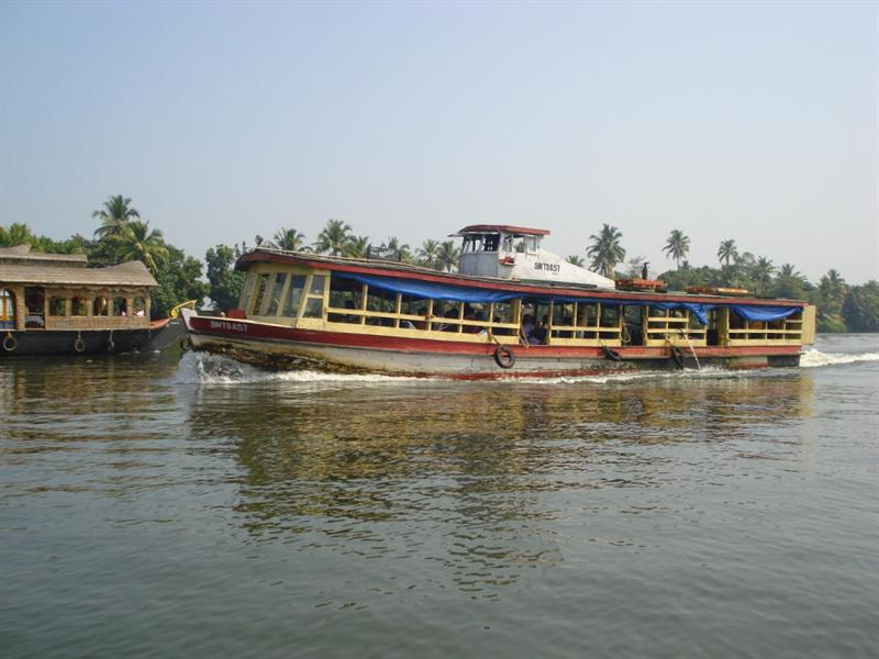 Water Transport System - Ferry Service Boat
