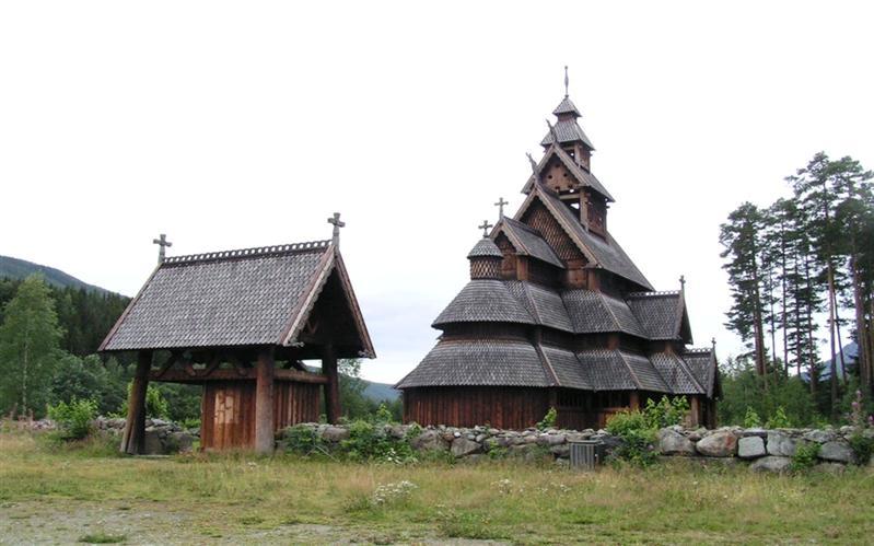 Stabkirche, Folkemuseum, Oslo, Norway