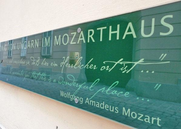 Mozart used to live here?