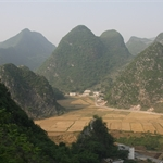 万峰林(WanFengLin) & 云台山(YunTai Mountain) & SuiZhuZhai, 贵州(GuiZhou), China, May 2008