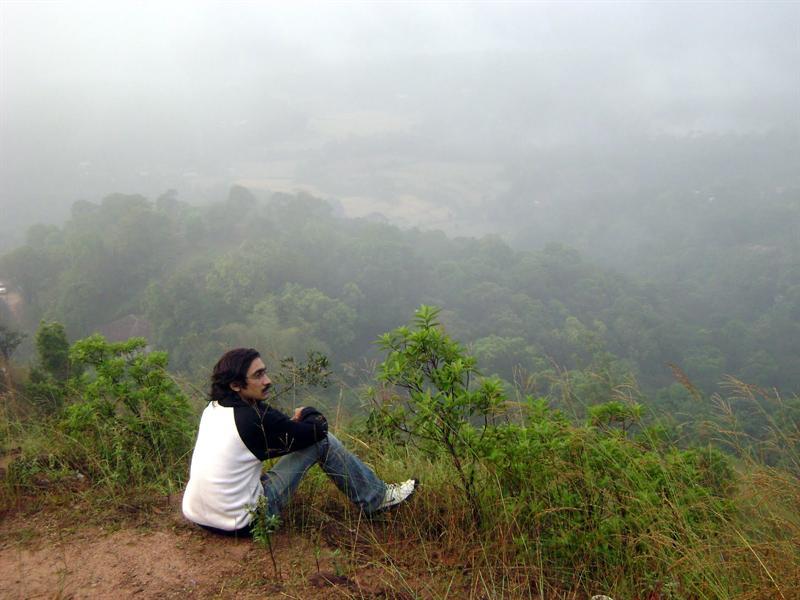 Raja's Seat, 1KM away from where I stayed @ Madikeri