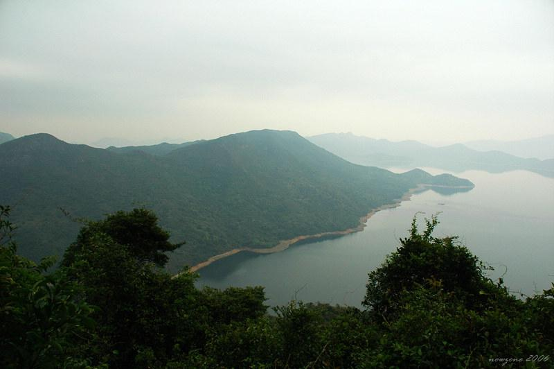 Wang Leng (Horizontal Mountains) and Plover Cove Reservoir橫嶺及船灣淡水湖