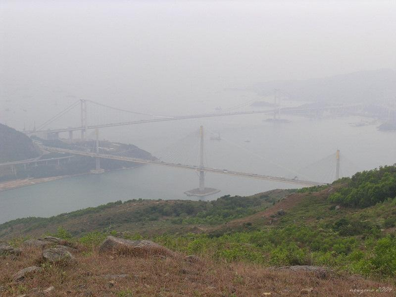 Ma Wan Channel 遠望馬灣海峽