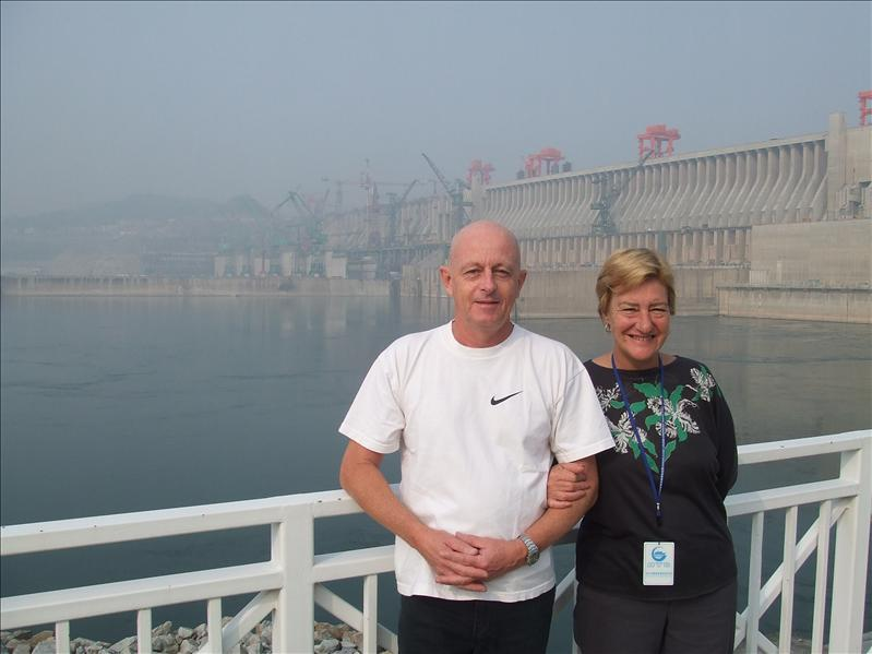 Three Gorges Dam Yangse