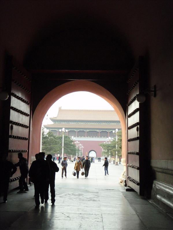 big freakin doors, forbidden palace