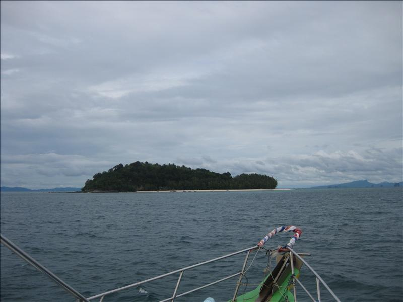 Heading to Bamboo Island