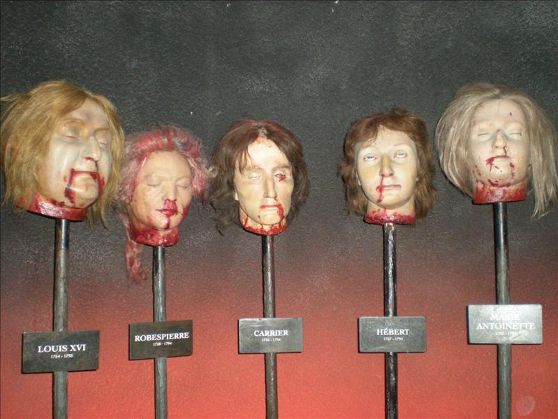 Chamber of Horrors, Madame Tussaude's Wax Museum - 20th May