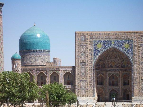 JOURNEY'S END - THE REGISTAN, SAMARKAND