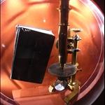 bible & microscope