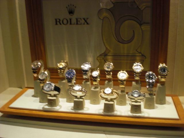 Real honest to goodness Rolex's.  The movement really IS all that they say it is.