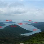 20070602 Tai Cham Koi to Ngau Wu Tun via PaiNgak Shan 貢東三山
