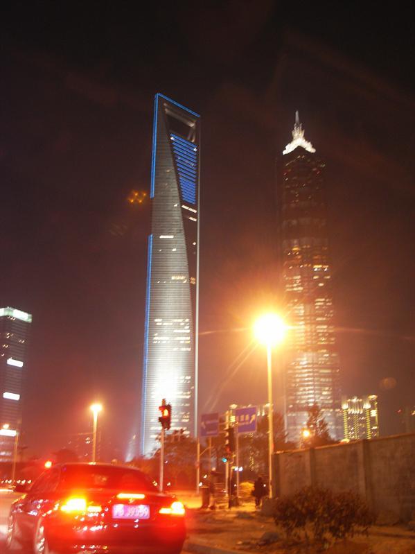 Shanghai World Financial Center & jin mao tower