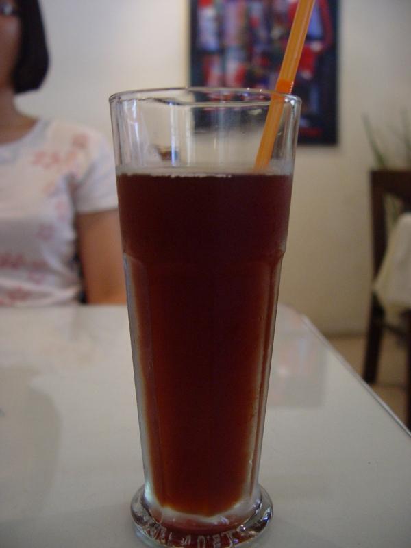 四果茶喝起來像熊熊糖味道