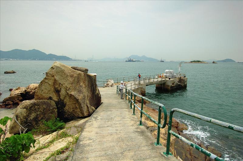 草灣的碼頭