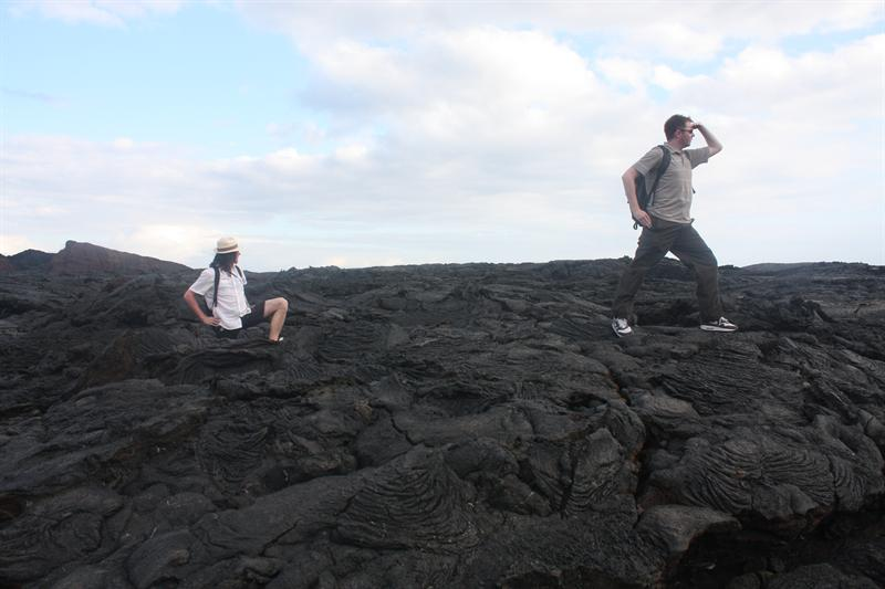 Some idiots on the lava....