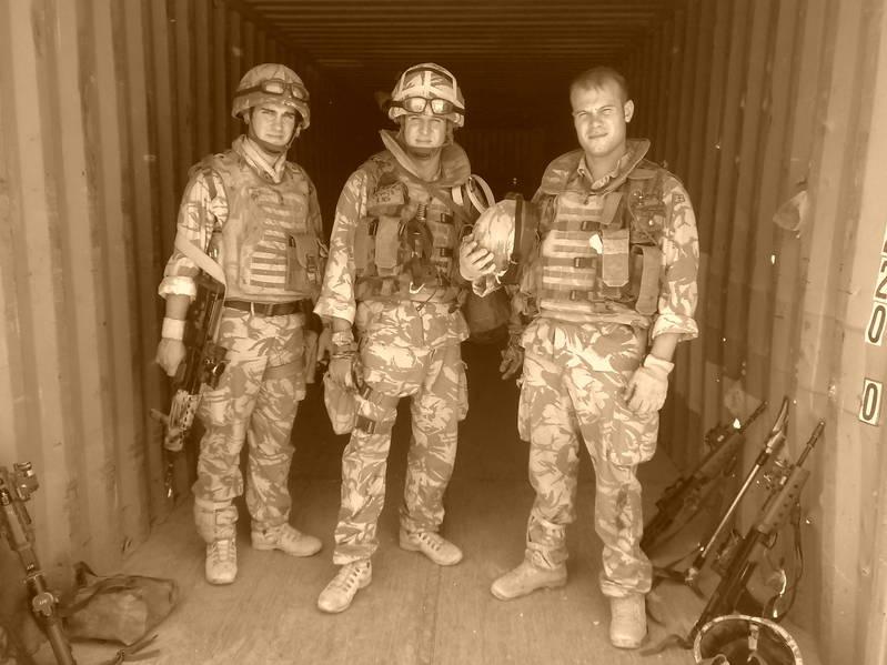 Recce Boys ready for a patrol