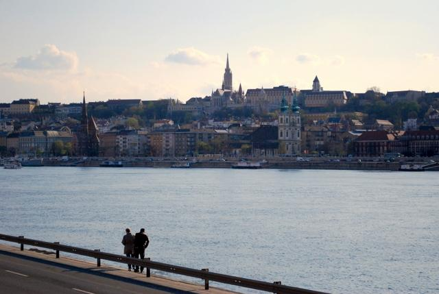 The walk along the Danube was when we really started enjoying Budapest