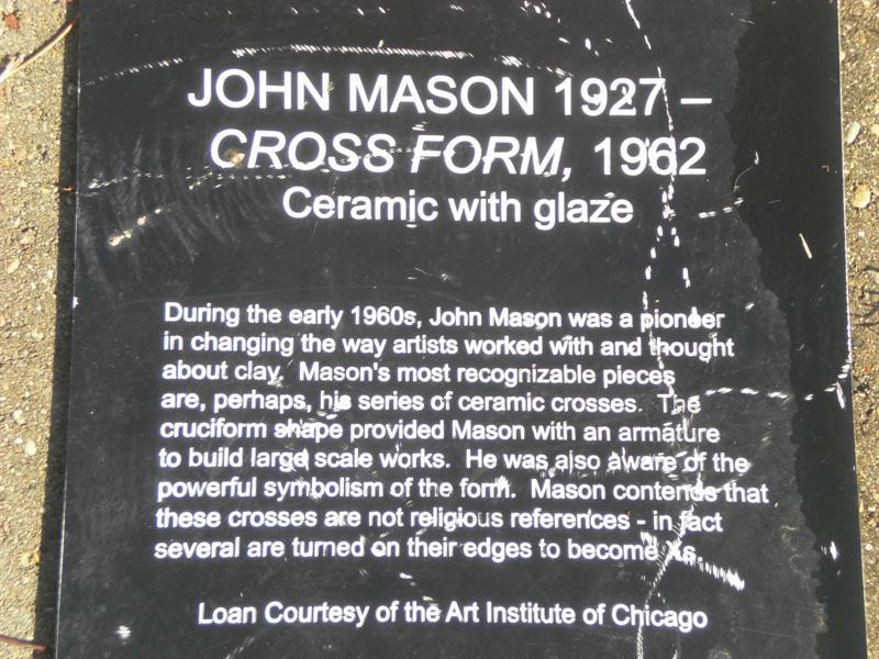 Cross Form plaque