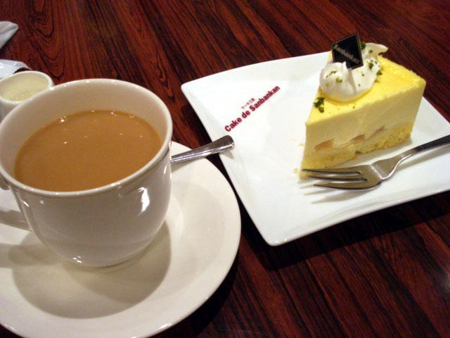 chees cake & coffee