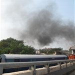 Goan train and its pollution