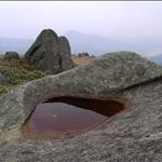 Jumbled boulders