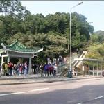 Start at Ng Fai Tin由清水灣道近五塊田的入口出發