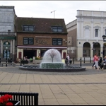 This is the city square in Dover.