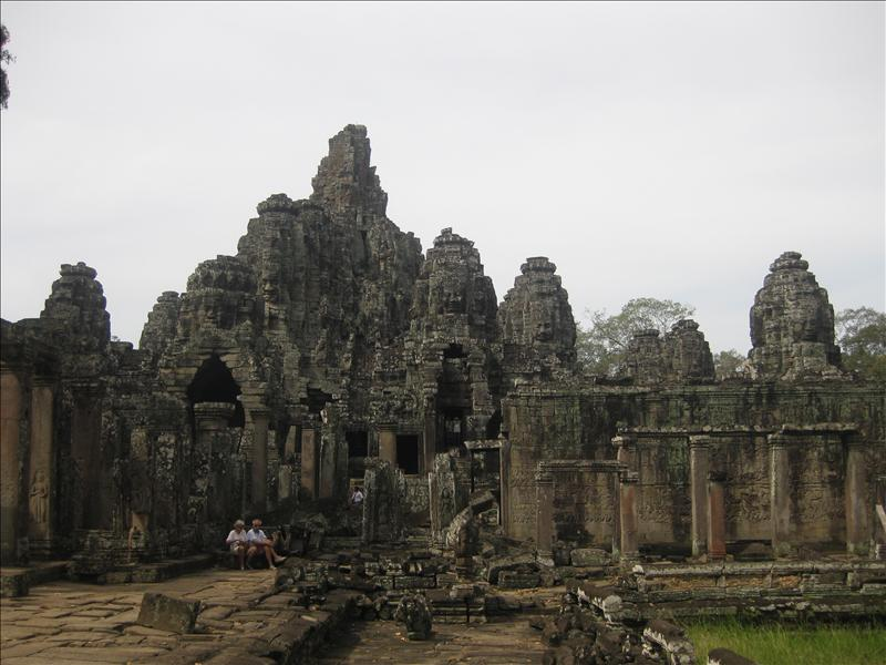 Towers of Bayon Temple