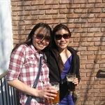 Viv and Janet @ Redbrick Brewery Tour