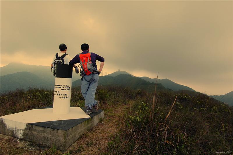 水泉澳山頂 (約370m) Shui Chuen O (Sugar-loaf)