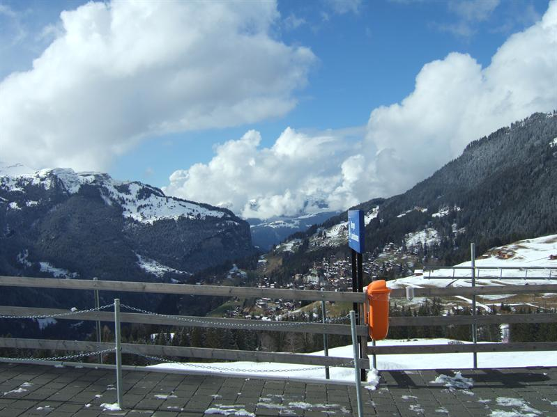 En Route from Kleine Scheidigg to Wengen