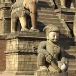 Tempelaufgang Bhaktapur