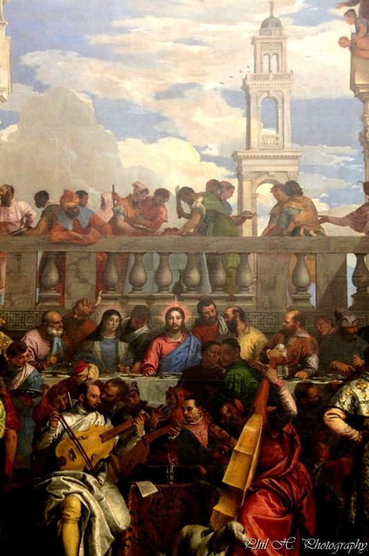 Louvre (Veronese, Wedding of Kanaan)