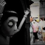 20121006 寵物墳場場境及角色立體模型  Frankenweenie At Times Square