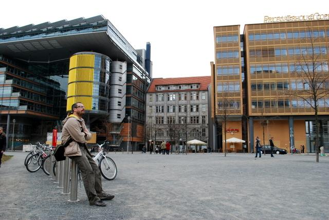 The modern world of Potsdamer Platz