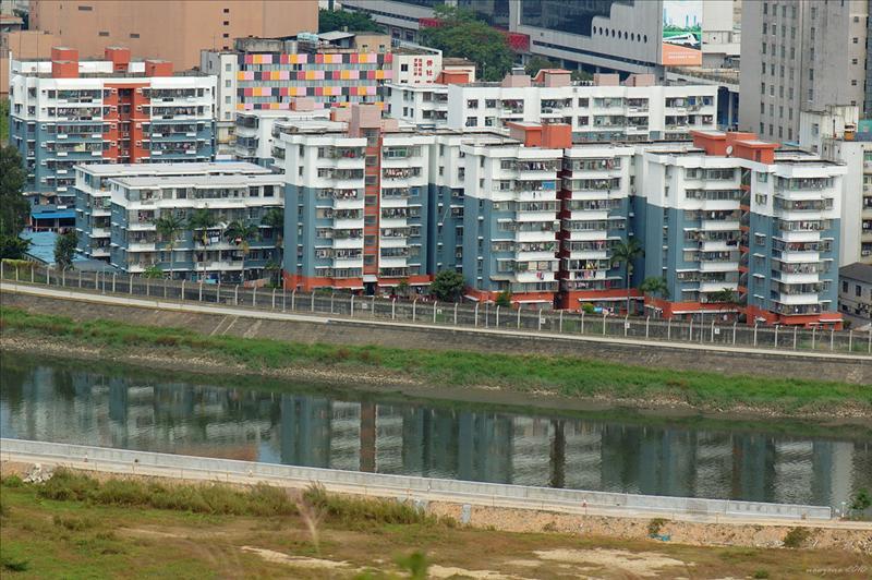 邊境禁區深圳河