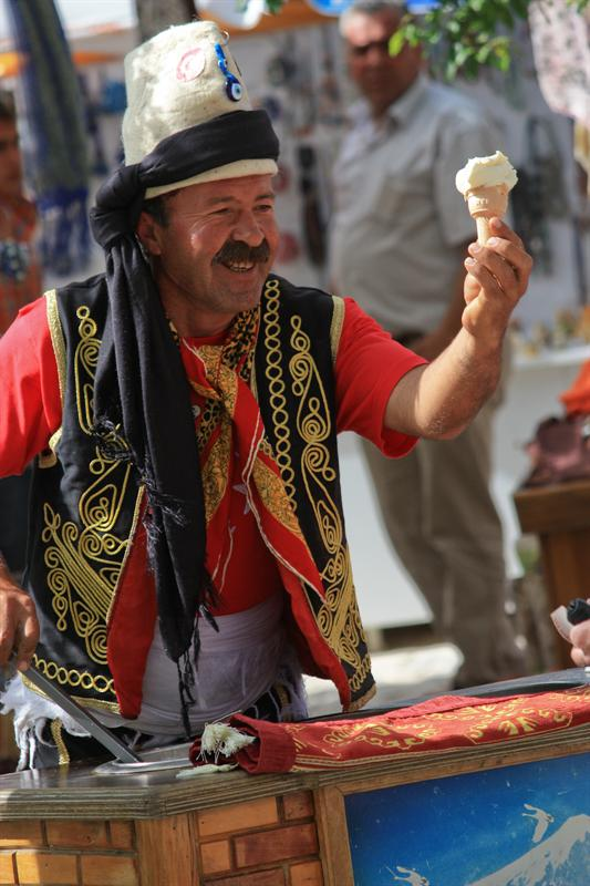 Turkish ice cream