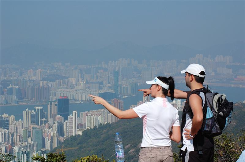 渣甸山頂 (海拔433m) Jardine's Lookout