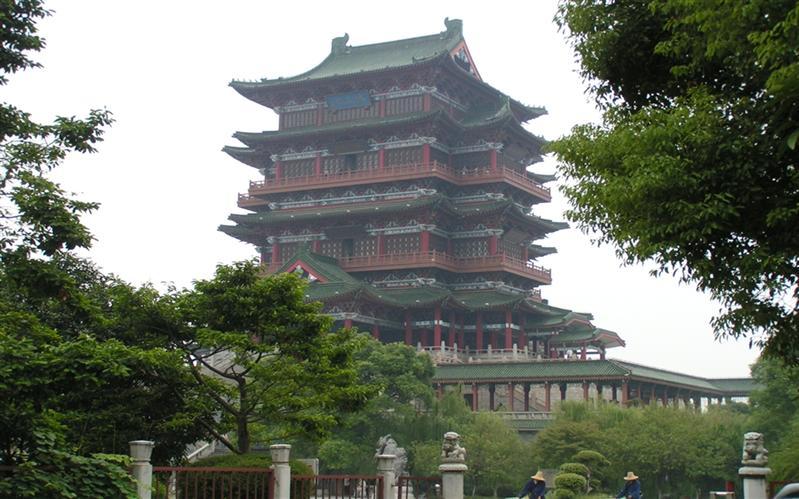滕王阁,南昌,(NanChang), JiangXi, China