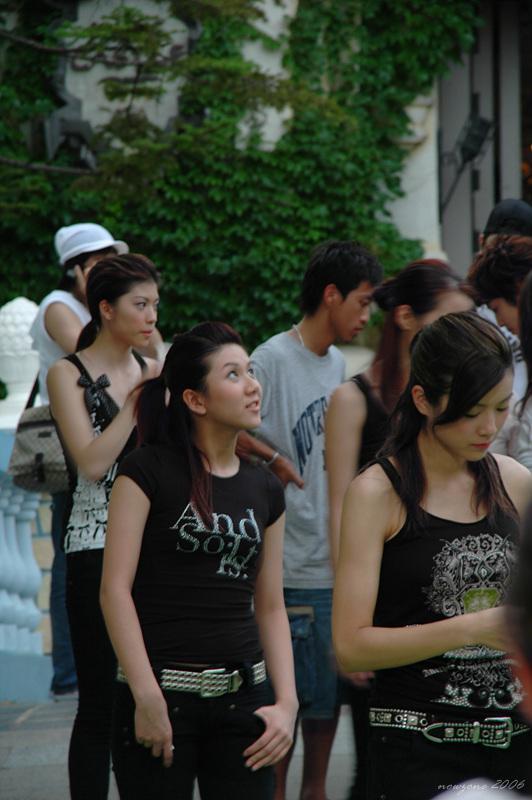 2006香港小姐競選外影拍攝