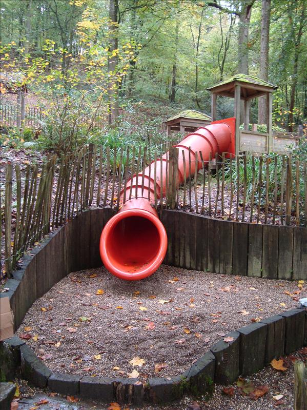 Red tube on the left side