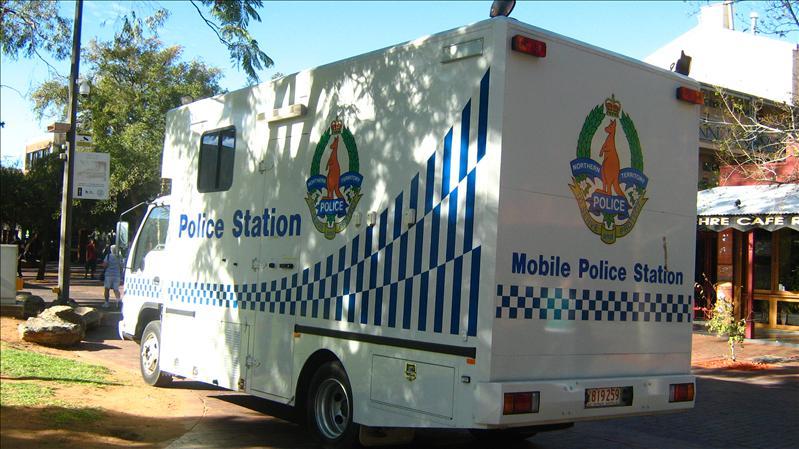 Police Van in Alice