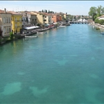 The river as it leaves Lake Garda.