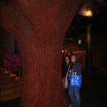 Chel and Adri with the tree.JPG
